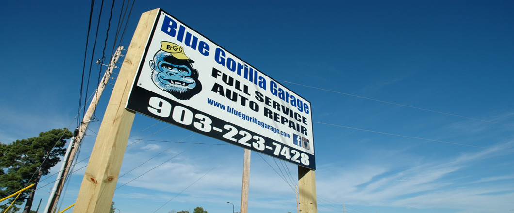 Blue Gorilla Garage